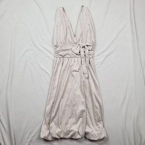 See by Chole Bow Waist Bubble Hem Empire Dress